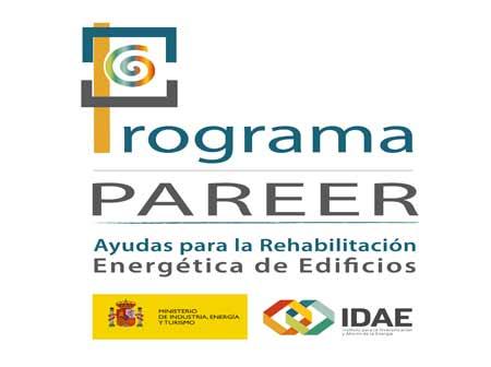 Ayudas a la rehabilitación energética PAREER