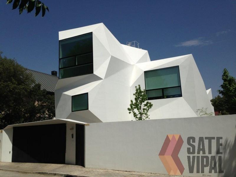 Obra nueva - Fachadas viviendas unifamiliares ...